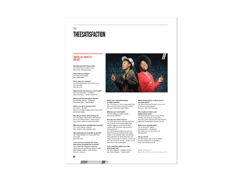 Theesatisfaction Q&A