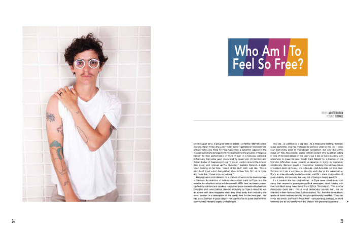 JD Samson interview